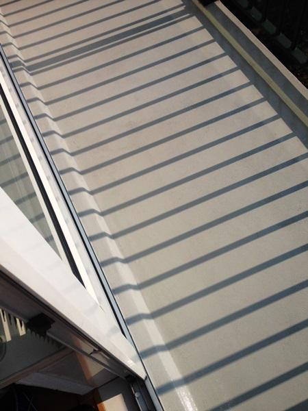 Balkonvloer met 2 componenten